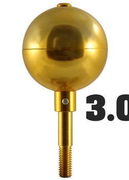 Gold Ball for Flagpole Topper