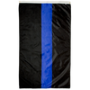 Image of Law Enforcement Support Flag Thin Blue Line Flag for sale online
