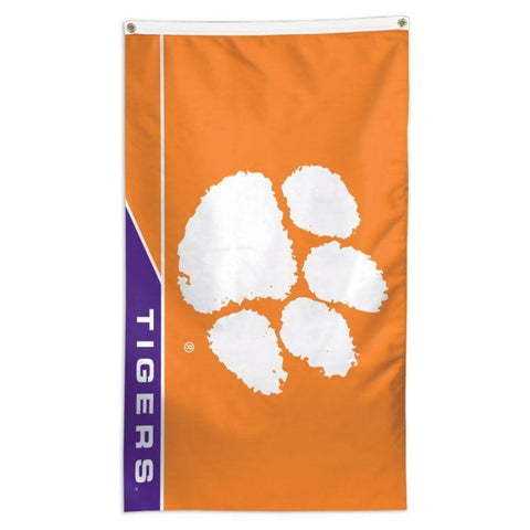 NCAA Clemson Tigers team flag for sale