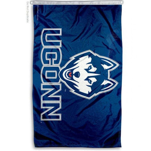 Connecticut Huskies NCAA team flag regular