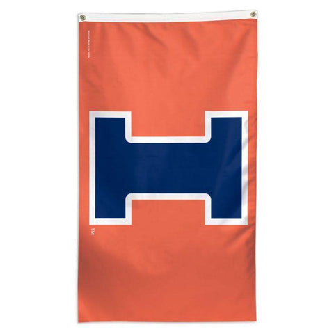 NCAA Illinois Fighting Illini team flag for sale