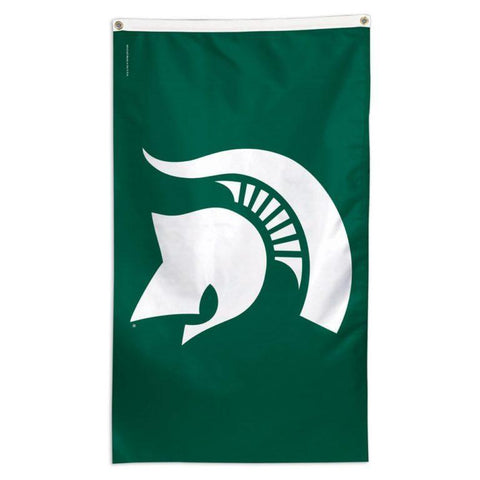 NCAA flag for flagpole Michigan State Spartans team flag for sale