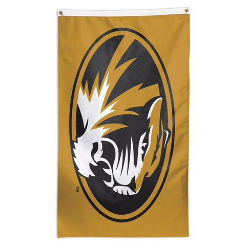NCAA flag for flagpole Missouri Tigers team flag for sale