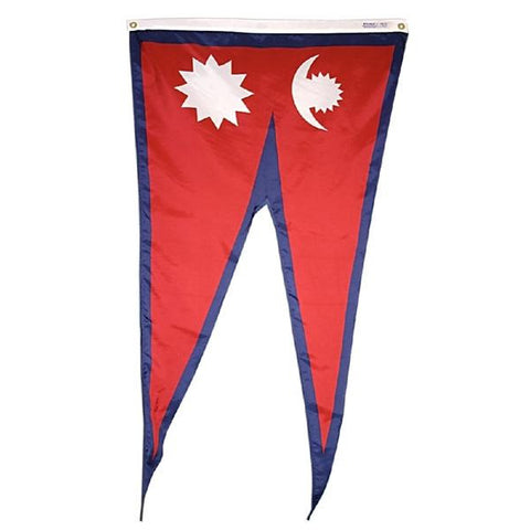 The national flag of Nepal for sale to buy online from Atlantic Flag and Pole