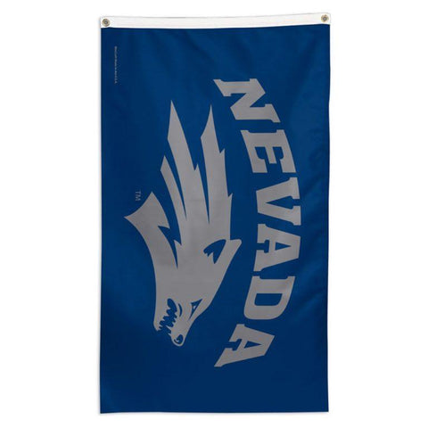 NCAA flag for flag pole Nevada Wolfpack team flag for sale