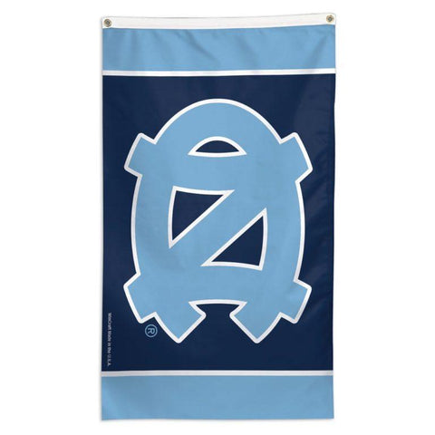 NCAA North Carolina Tarheels team flag for sale to fly on a flag pole