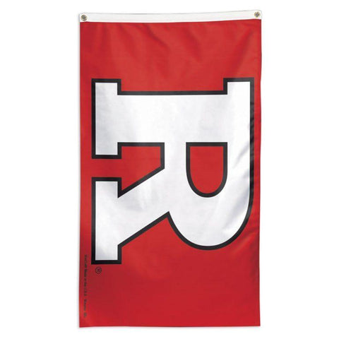 Rutgers Scarlet Knights NCAA team flag for sale for a flag pole