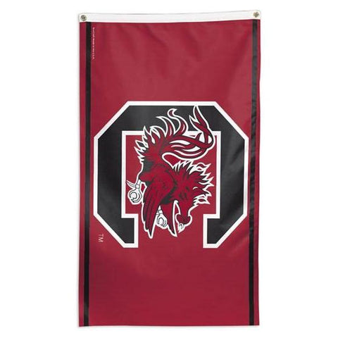 NCAA South Carolina Gamecocks team flag for sale so you can fly it on a flag pole in your front yard
