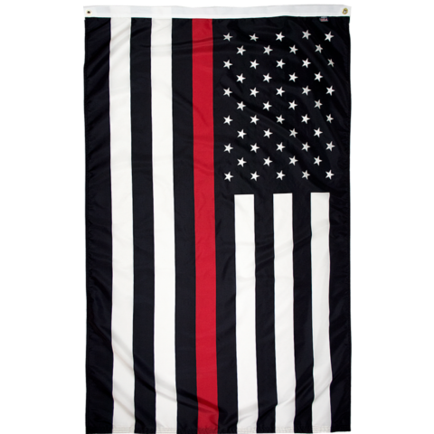 thin red line american flag for firefighters for sale online