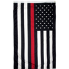 Image of thin red line american flag for firefighters for sale online