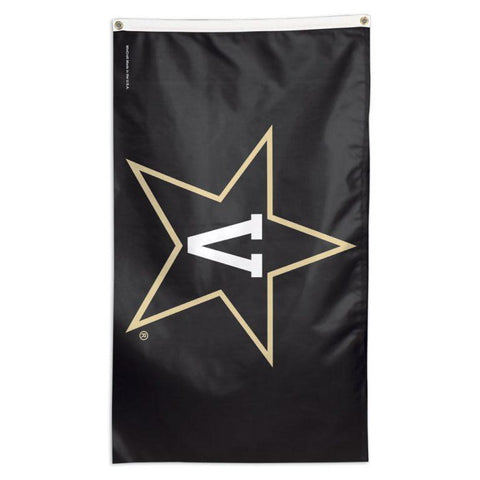 NCAA team Vanderbilt Commodores flag for sale for the top of a flagpole at your house