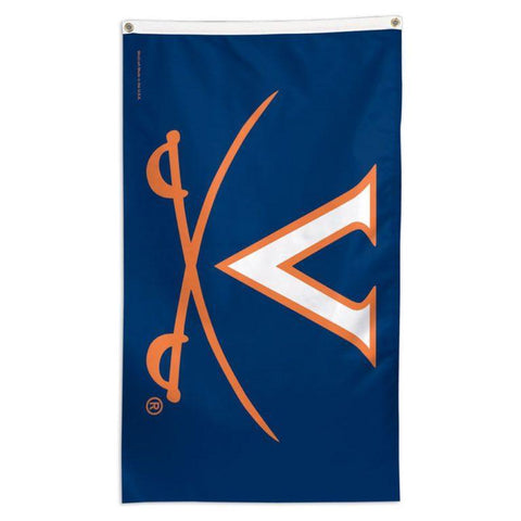NCAA Virginia Cavaliers team flag for sale to fly on a flagpole at home