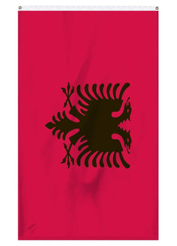 Albania international flag for sale to fly on a flagpole