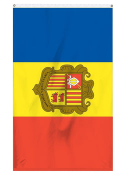 Andorra international flag for sale for the top of a flagpole