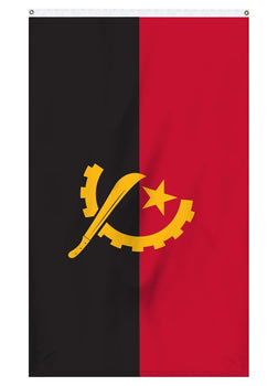 Angola International flag for sale for flagpoles
