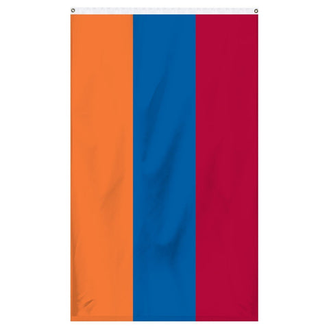 Armenia international flag for a telescoping flagpole