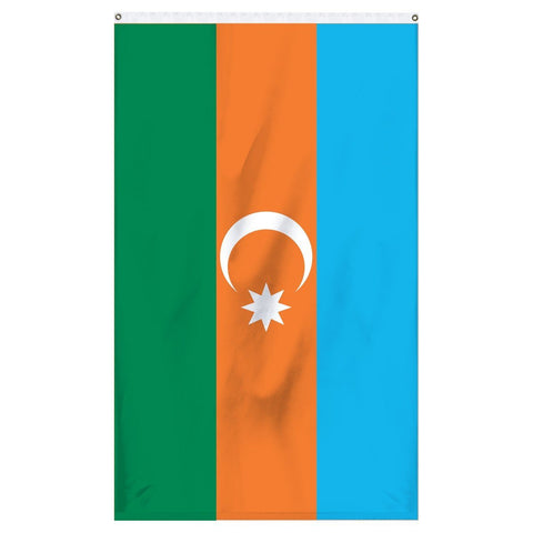 Azerbaijan flag for sale for the top of flagpoles