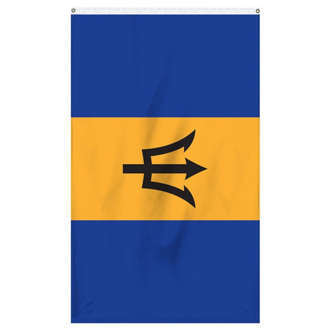 Barbados international flag for sale for flagpoles