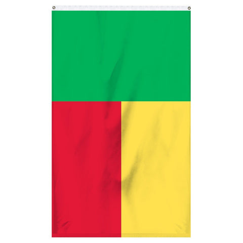 The official national flag of Benin for sale