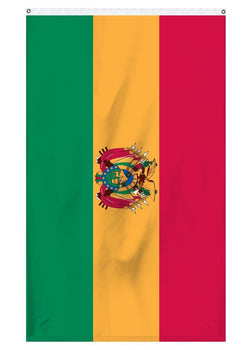 Bolivia international flag for sale to fly ontop of flag poles