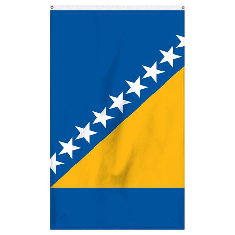 The national flag of Bosnia for sale