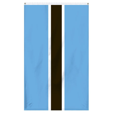 The national flag of Botswana for sale for flagpoles and parades