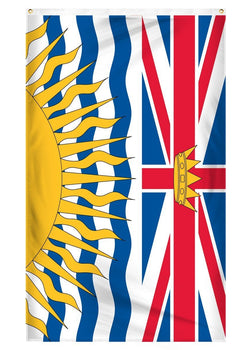 British Columbia national flag for sale