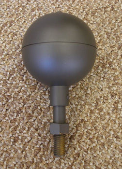 Black Bronze Ball for Flagpole Topper