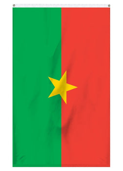 Burkina international flag for sale in America for flagpoles and parades