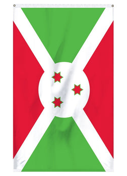 Burundi international flag for sale nylon indoor or outdoor use