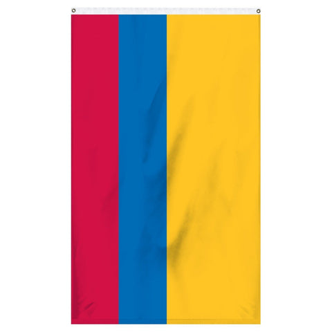 National flag of Colombia for sale for collectors, flag poles, and parades
