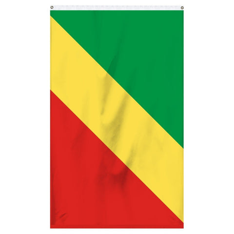 Congo national flag for sale for flagpoles and parades
