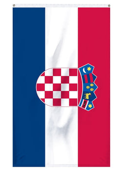 National flag of Croatia for sale for indoor and outdoor flag poles