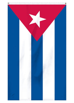 National flag of Cuba for sale for flag poles and parades