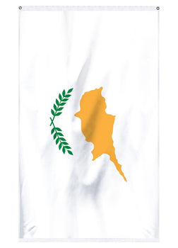 The National flag of Cyprus for sale for flying on flagpoles and in parades