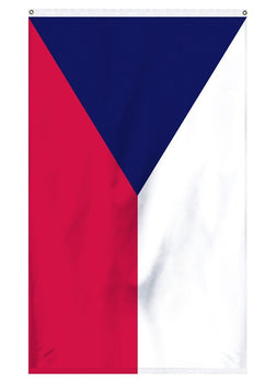 The national flag of the Czech Republic for sale for collectors and outdoor flagpoles