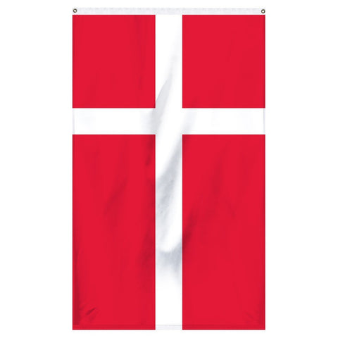 The national flag of Denmark for sale perfect for flagpoles and parades