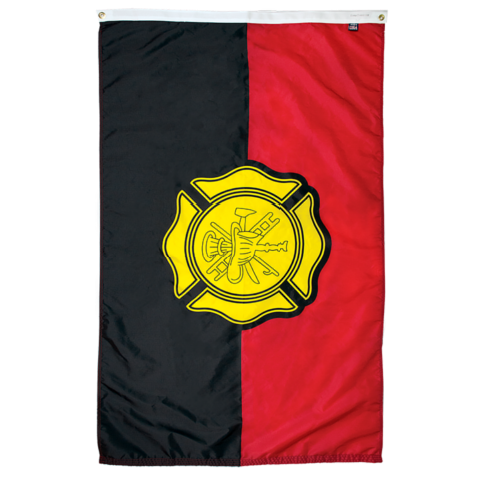 Fallen Firefighter remembrance fire department flag for sale online