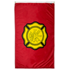 Image of red and yellow fire department flag for sale online