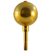 Image of Gold Ball For Flagpole Topper 3In 12 Flagpole Ball Topper