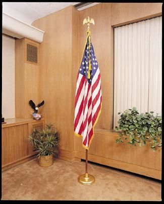 Freedom Indoor Flagpole Set – Atlantic Flagpole