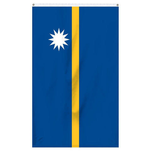 The national flag of Nauru for sale to buy online from Atlantic Flag and Pole