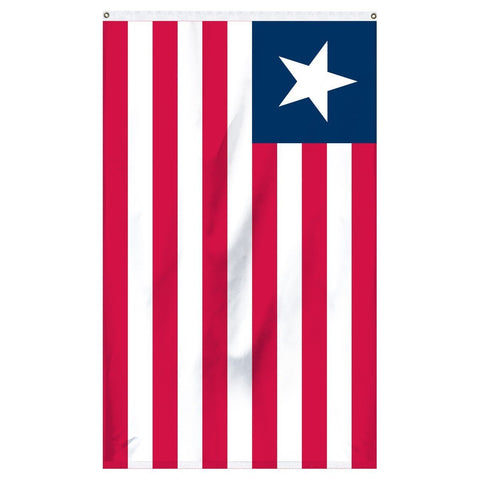 The flag of Liberia for sale to buy online now for flagpoles and parades