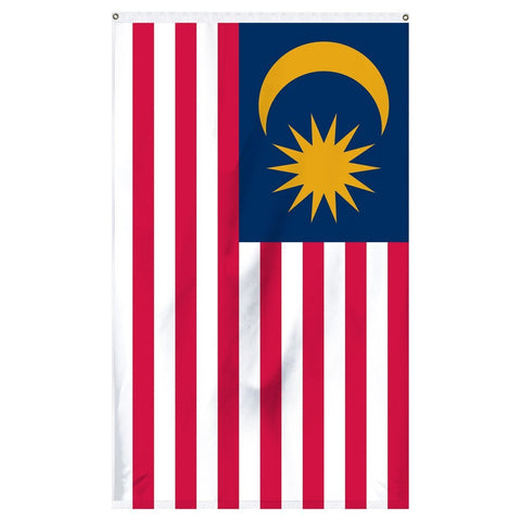 The national flag of Malaysia for flagpoles for sale to buy online