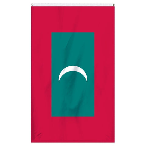 The national flag of Maldives flag to buy online from atlantic flag and pole