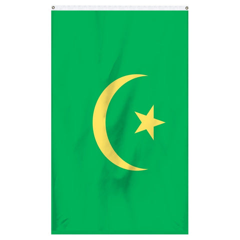 Mauritania national flag for sale for flagpoles