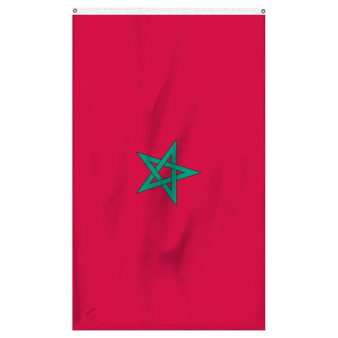 Morocco national flag for sale to buy online from Atlantic Flagpole, an American company.
