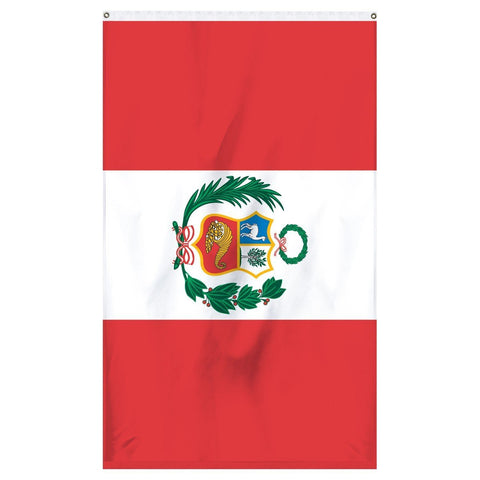 Peru National flag for sale to buy online from Atlantic Flag and Pole