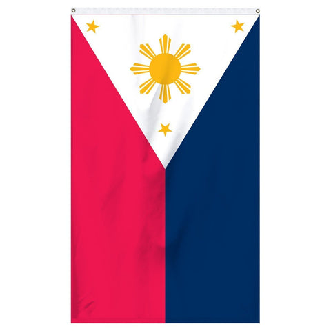 Philippines national flag for sale to buy online now from the American company Atlantic Flag and Pole