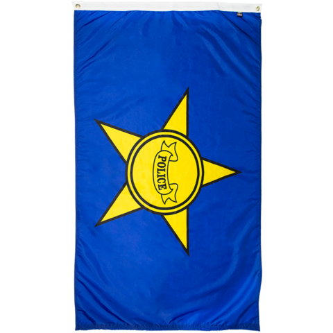 police department flag for sale online